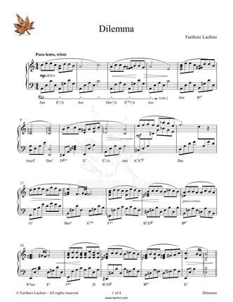 Murmuring Creek Sheet Music