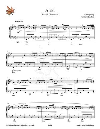 Alaki 2 Sheet Music