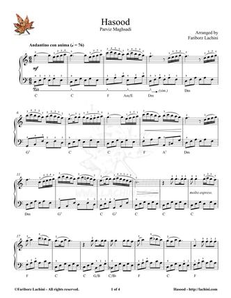 Hasood Sheet Music