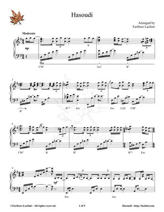 Hasoudi Sheet Music