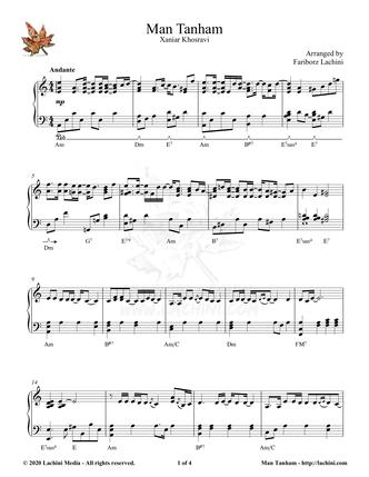 Man Tanham Sheet Music