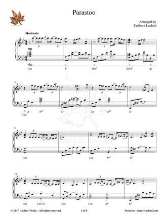 Parastoo Sheet Music