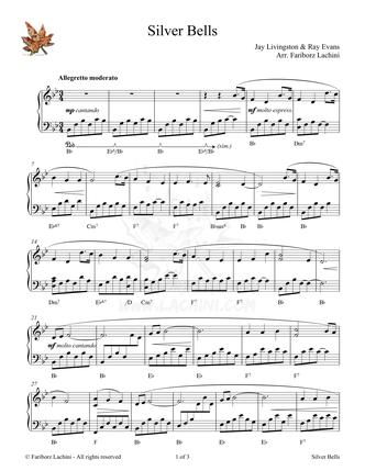 Silver Bells Sheet Music