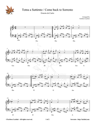 come on eileen piano sheet music pdf