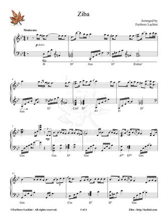 Ziba Sheet Music